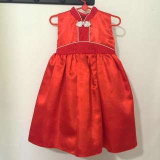 Chinese New Year Girl Dress