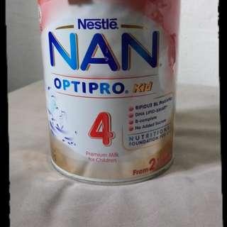NAN OPTIPRO Kid >4 Premium Milk for Children.