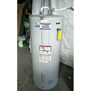 二手家具全省收購(大台北冠均 五股店)二手貨中心--美國豪盟電能儲存式熱水爐Y-011905
