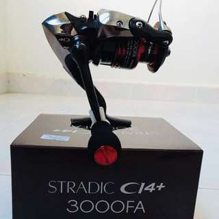 Shimano Stradic ci4+ 3000FA