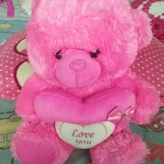 pink(stuffed toy)