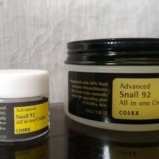 COSRX Snail 92 All In One Cream Decant (Takal)