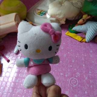 H.kitty Finger puppet rattle sound