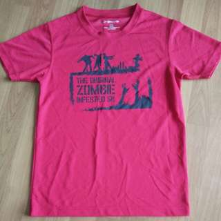 Brooks Zombie Obstacle Run Finisher Tee Shirt