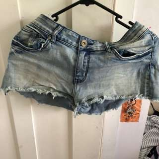 Riders denim shorts