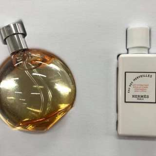 Hermes perfume + body lotion