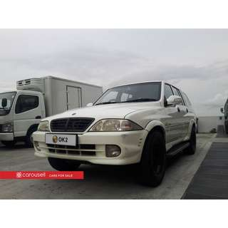 Ssangyong Musso Double-Cab (COE till 03/2021)