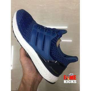Adidas Ultra Boost for Men and Women Unisex OEM Premium Authentic Shoes (Blue and White)