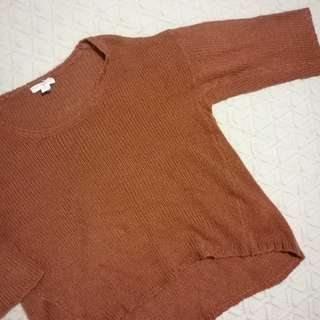 Tan jumper