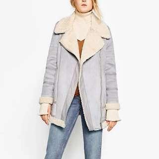 🛬韓國新款麂皮加厚絨毛外套🧥