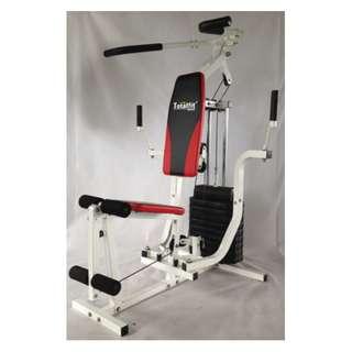 Jual Home Gym TL HG008 Alat Fitness - Hitam [1 Sisi] Online