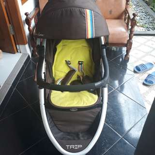 chocolate trip stroller