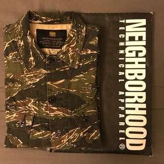 Neighborhood 虎斑工作襯衫