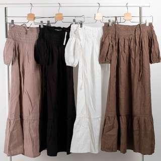 Yonda Dress (sabrina dress)
