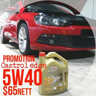 $38 fully synthetic 5w40 car servicing