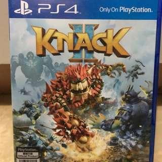 Knack 2 可以雙打/岩哂情侶一齊玩