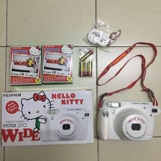 instax 210 Wide Hello Kitty