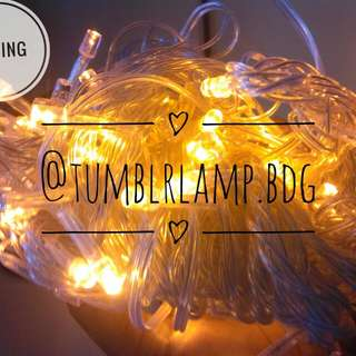 Lampu Tumblr Kuning