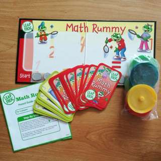 Leap Frog Maths Rummy