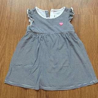 MIKI Baby Striped Dress