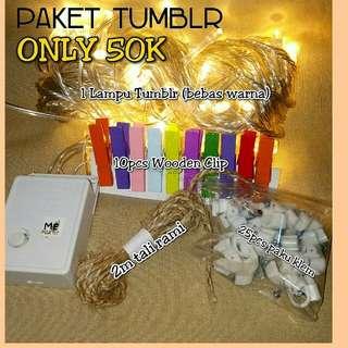 Lampu Tumblr Paket