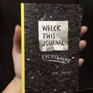 REPRICED RUSH WRECK THIS JOURNAL