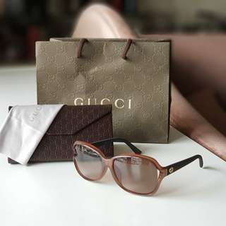 Authentic Gucci GG Asian Fit Sunglasses