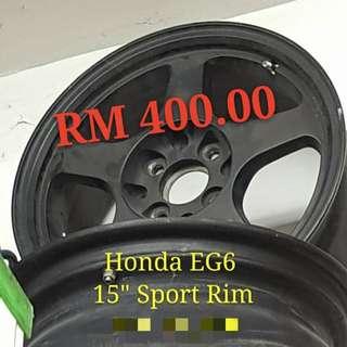 "Honda EG6 15""Sport Rim"