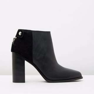 BRAND NEW: Senso Quade Leather, Black Ankle Boots
