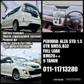 Perodua Alza S 1.5 Full Loan