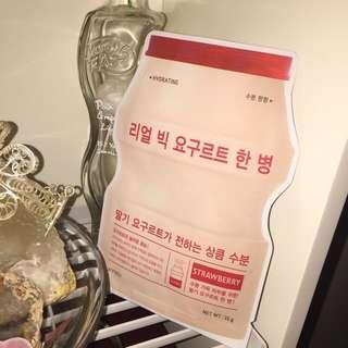 韓國益力多面膜 (包郵,不面交)