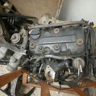 enjin kancil 660