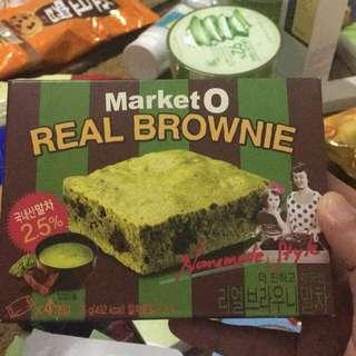 Market O green tea