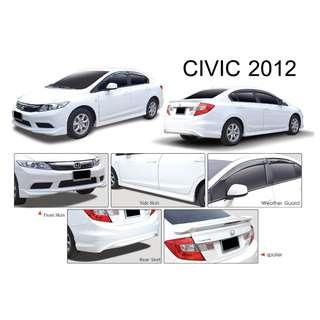 Honda Civic 2012 version Bodykit Bodykits