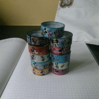 Mickey & Minnie Mouse Washi Tape