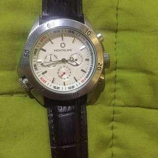 Montblanc chronograph watch