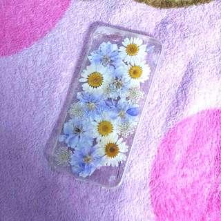 Iphone6s小菊花壓花手機殼