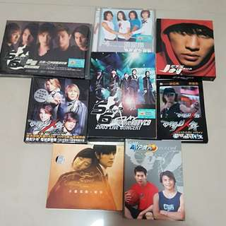Mandopop Music CD, VCD, Postcard