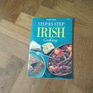 Step by step Irish Cooking cookbook