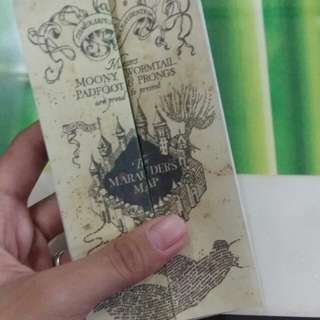 MINI REPLICA OF MARAUDER'S MAP