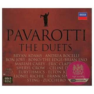 Pavarotti: <The Duets> 2008 Gold CD (Digipak)