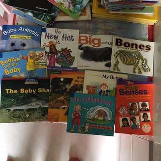 Children easy reading books