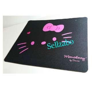 Hello Kitty Thick Base Mousepads Black Colour Sellzabo Mouse Pads
