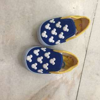 Baby boy mickey shoes