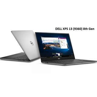 Brand New Dell XPS 13 8th Gen (9360)