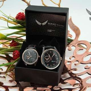 ANTICLOCK-WISE WATCHES BURAQ ASWAD