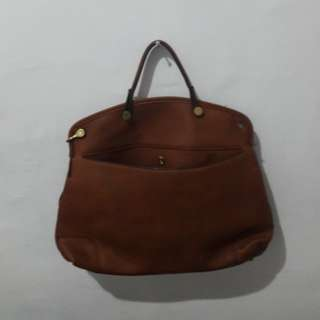 Pull and bear tas cokelat H&M