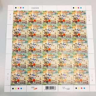 #高顏值# 香港迪士尼樂園開幕志慶紀念郵票 Disneyland stamp free postage
