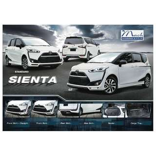 Toyota Sienta 2016 version Bodykit Bodykits