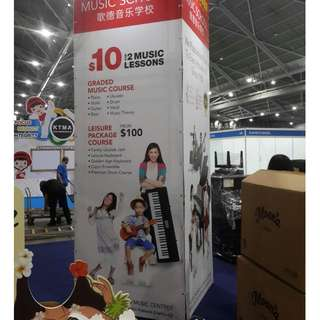 Exhibition Panels/ Booths /Counter Booth /Maze Rental